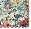 Navigators' Tracks & Discoveries of the World - Art Print - Kristjana S Williams Studio