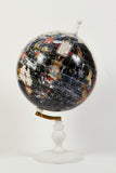 World Map Globe Navy - Large