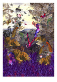 Purpura Vallis - Art Print - Kristjana S Williams Studio