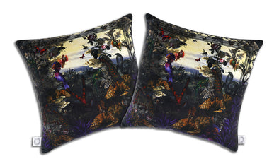 Purpura Vallis Cushion - Kristjana S Williams Studio