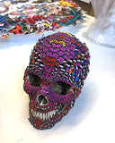 Butterfly Skull Sculpture - Original - Kristjana S Williams Studio