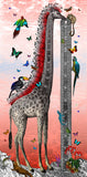 The Mohawk Giraffe - Art Print - Kristjana S Williams Studio