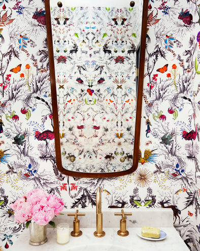 Thistle wallpaper - Kristjana S Williams Studio