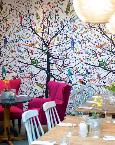 Tree Of Life Wallpaper / Wall Mural - Kristjana S Williams Studio