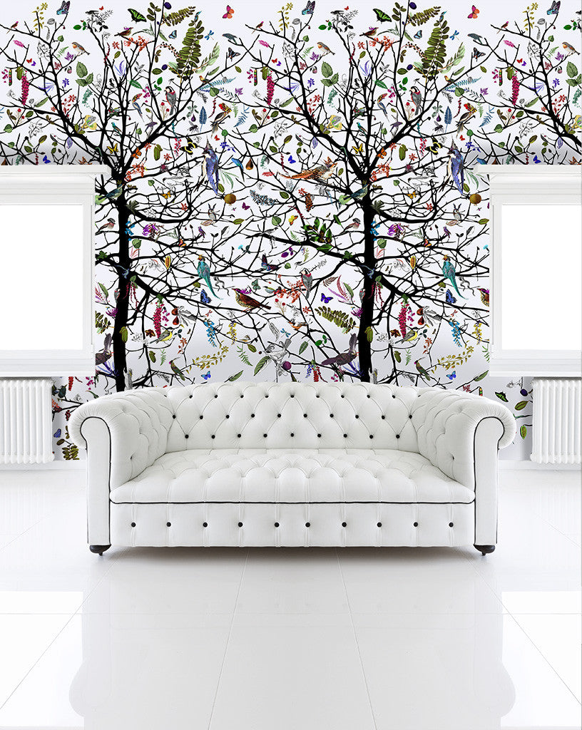 tree of life wallpaper wall mural � kristjana s williams