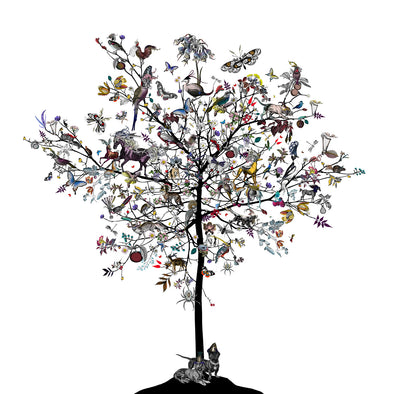 Trur & Tryggur - Aesop Tree - Art Print - Kristjana S Williams Studio