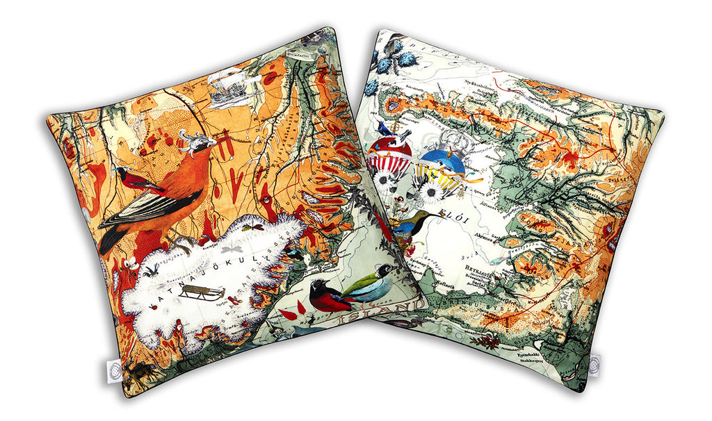 Vatnajokull Cushion cotton