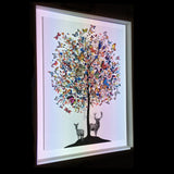 International tree - Original - Kristjana S Williams Studio