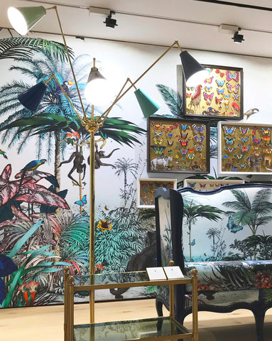 Yasmin Jungle Wall Mural - Kristjana S Williams Studio