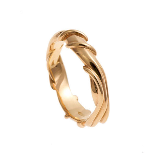 Entwine 18ct Rose Gold Band Ring