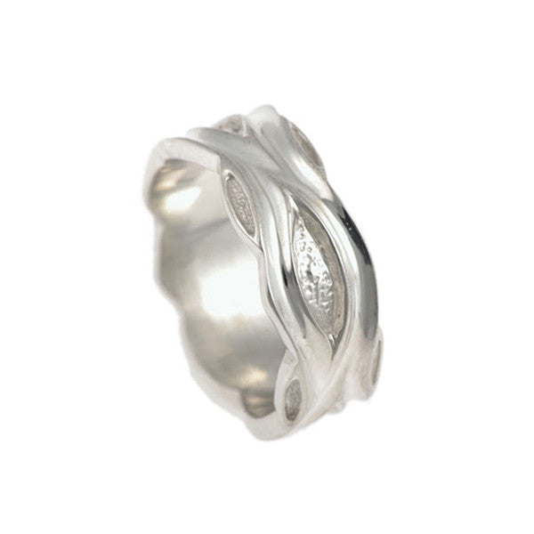 Libertine Silver Medium Ring