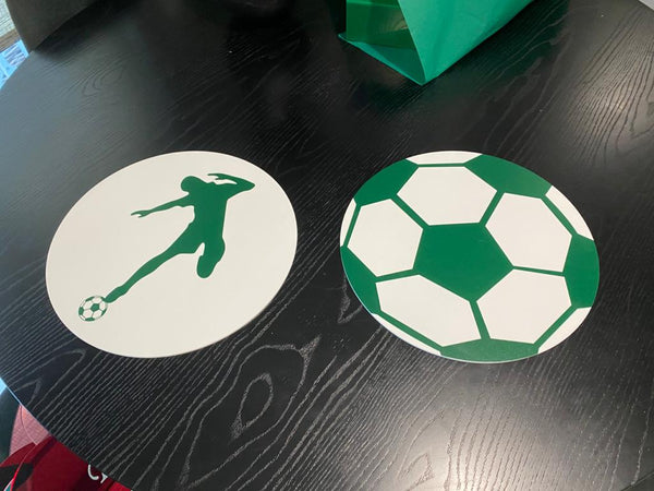 PLACEMATS SPORTS - GREEN