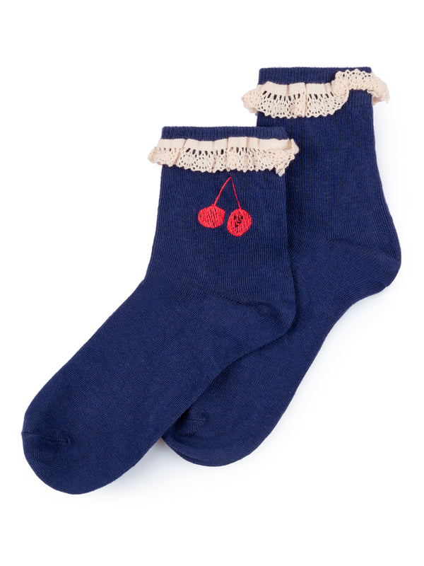 Cherry Short Socks