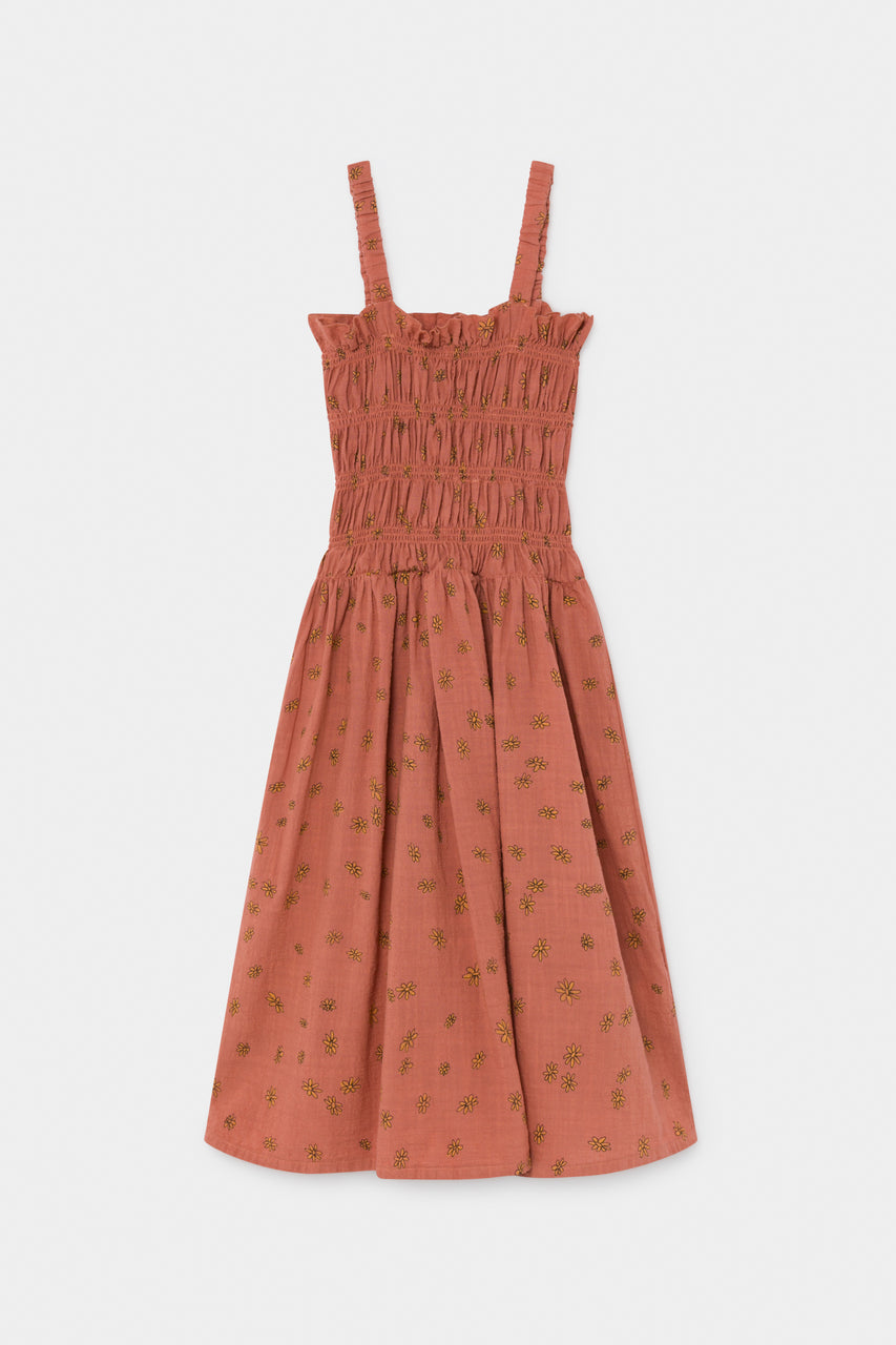 All Over Daisy Smoked Dress