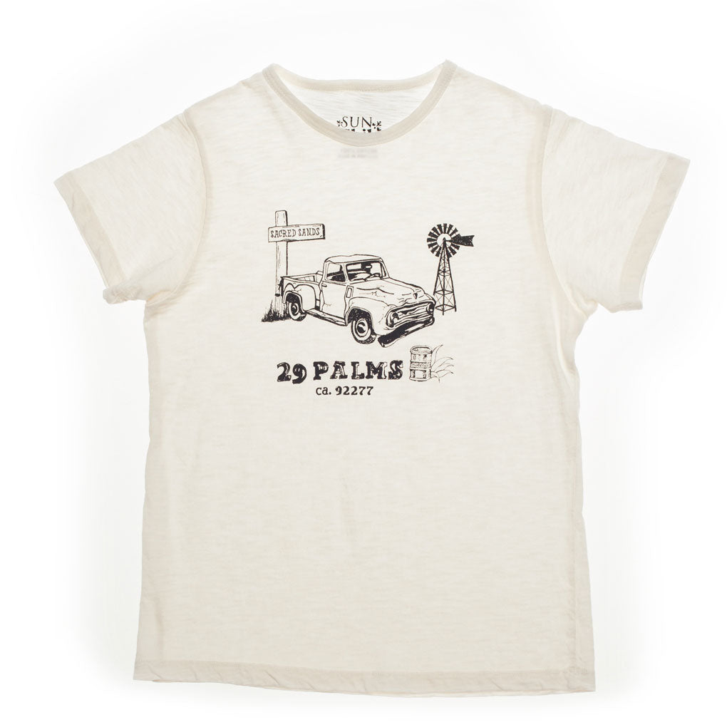29 Palms T-shirt, Milk