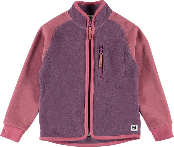 Unna-Fleece Jacket Amethyst
