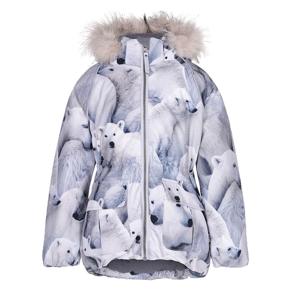 Cathy Fur Jacket, Polar Bear