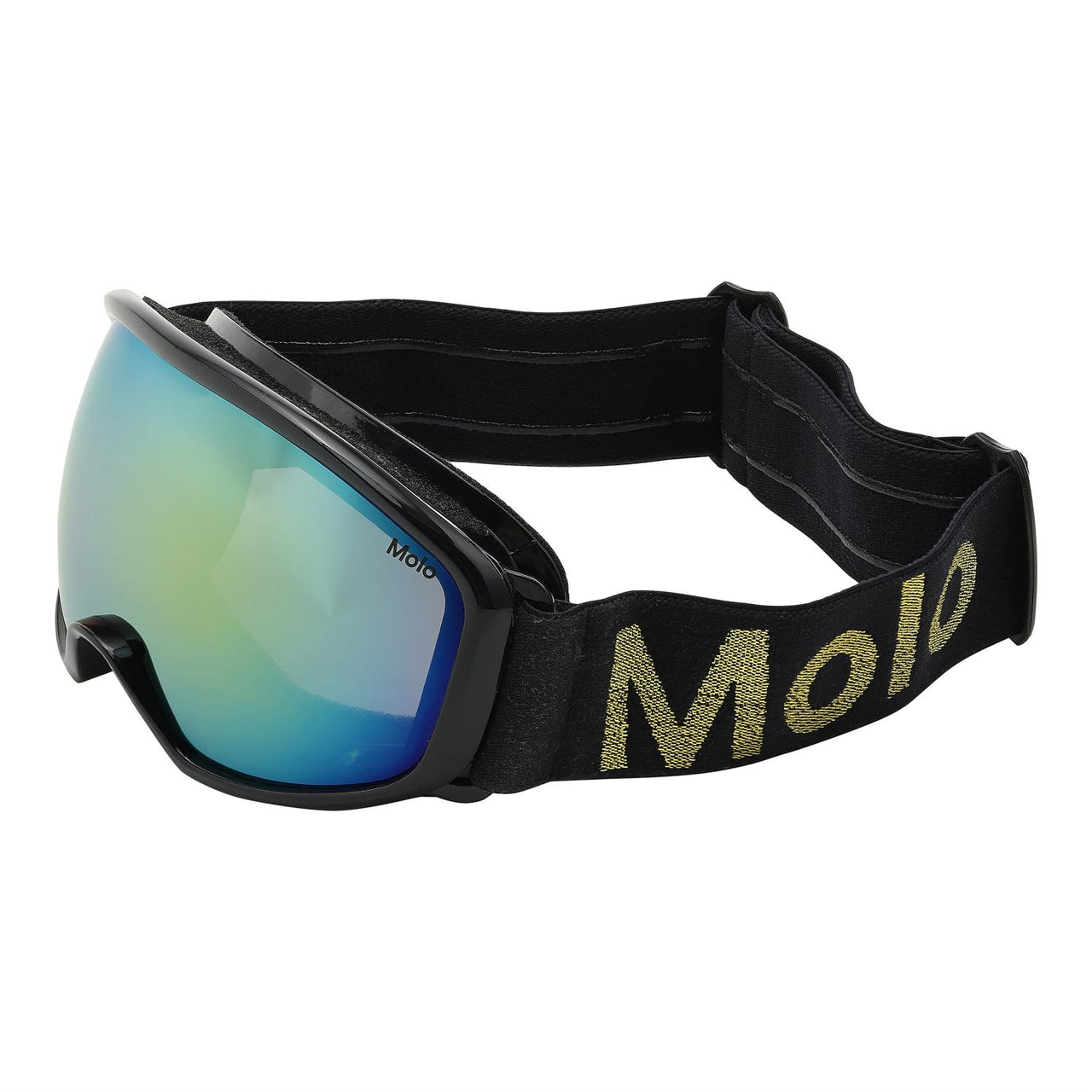 Frameless Evening Blue-Ski Goggles