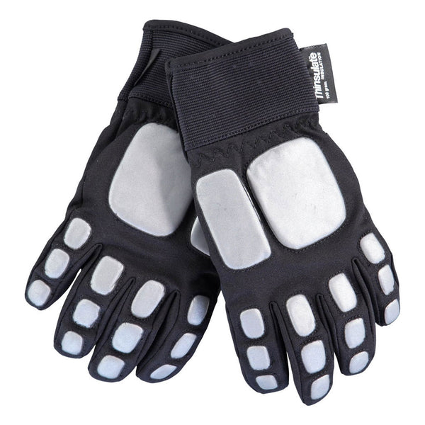 Madrobot Ski Gloves, Reflective