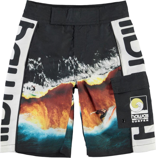 Natan - Boardies/Colour Block Waves