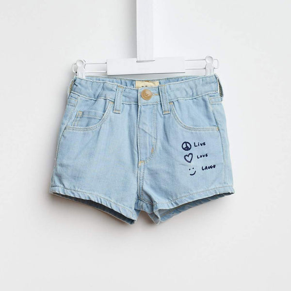 Petite81 Shorts, Medium Bleached