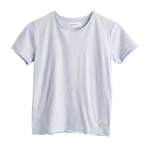 Baby Como Tee, Light Blue