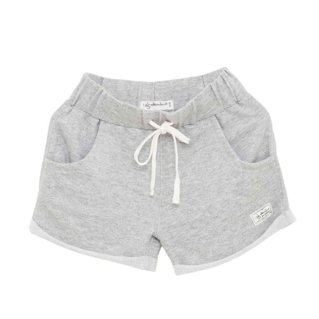 Flo Shorts, Grey Melange