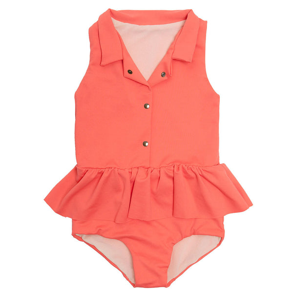 Baby Explorer Bathing Suit, Pink