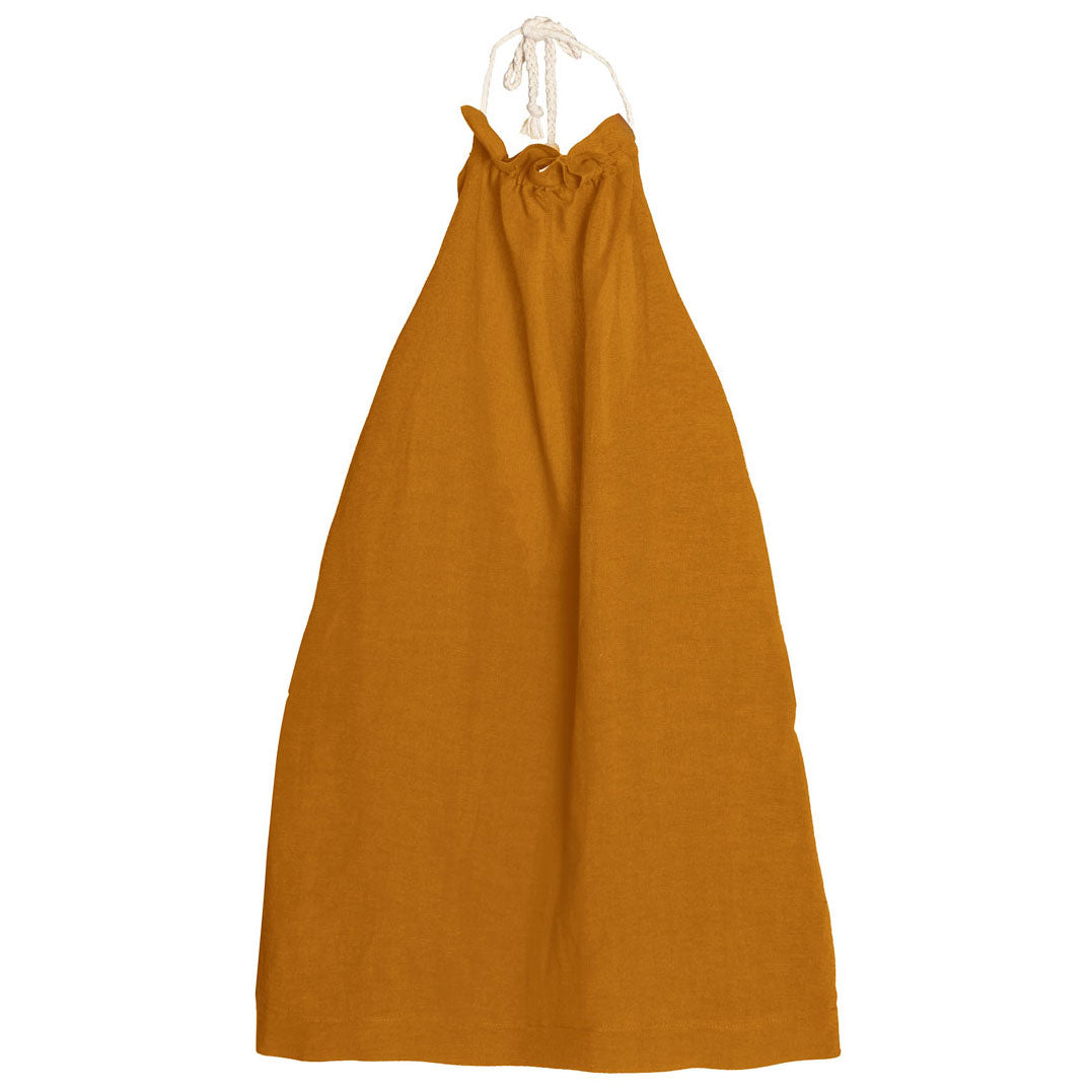 Tuareg Apron Dress, Safran