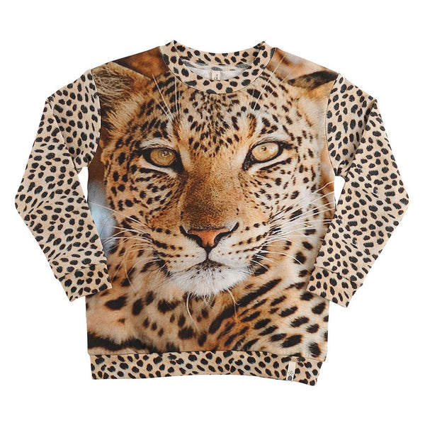 Loose Sweat Leopard