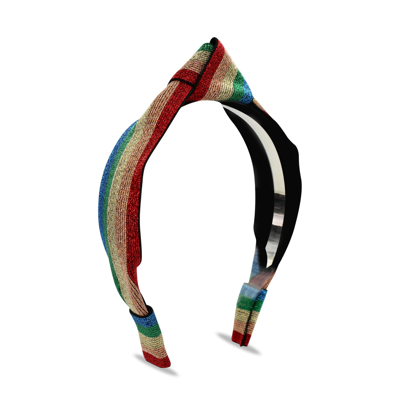 Luella Headband, Blue/Green/Gold/Red
