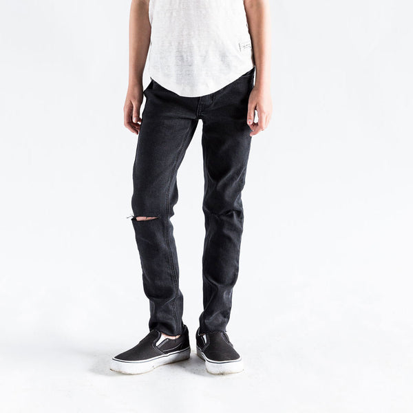 Madison Slim Fit Jeans, Black