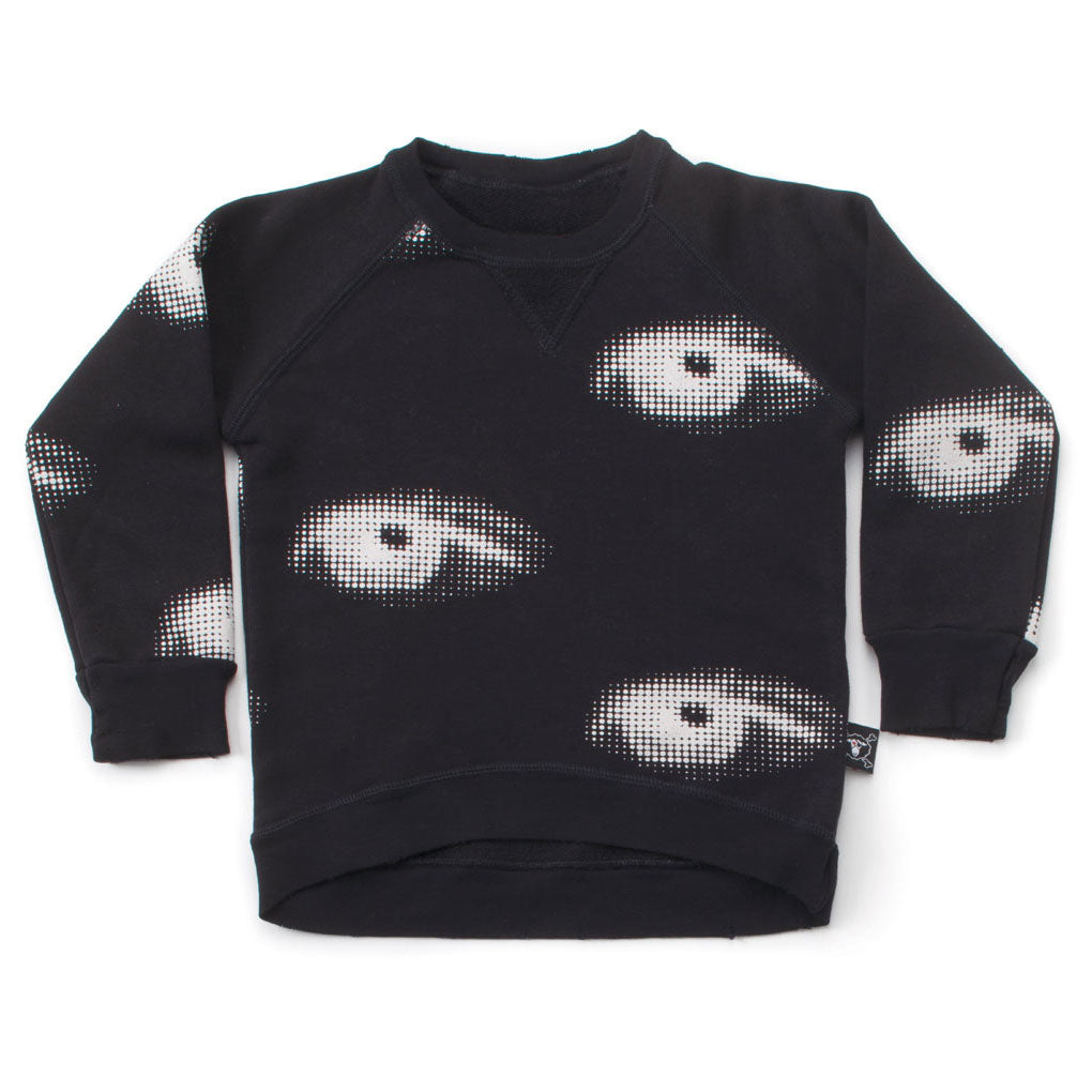 Eye Sweatshirt, Black