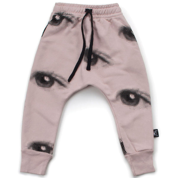 Eye Baggy Pants, Powder Pink