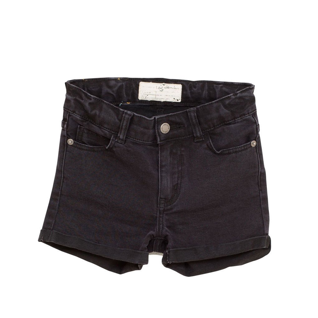 Rio High-Waisted Shorts, Black