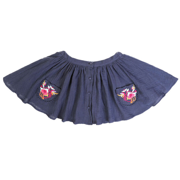 SKIRT SIBERIE DARK BLUE