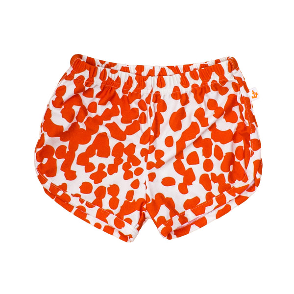 Baby Swim Shorts, Coral Stains