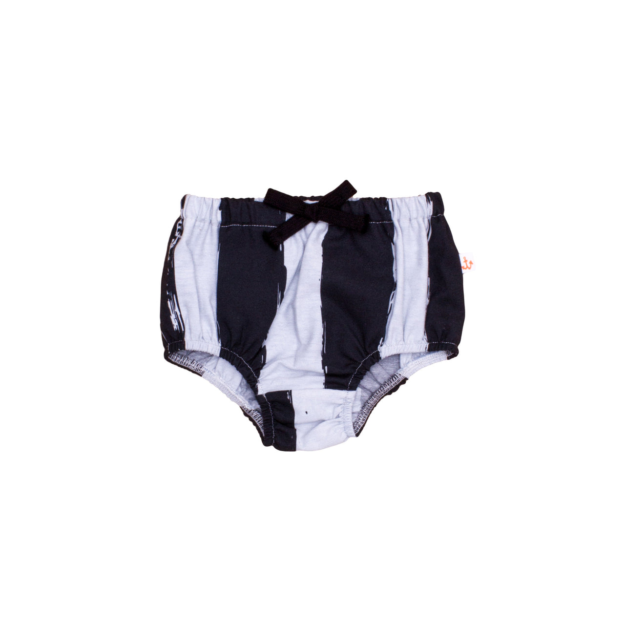Chambray Bloomer, Black Stripes