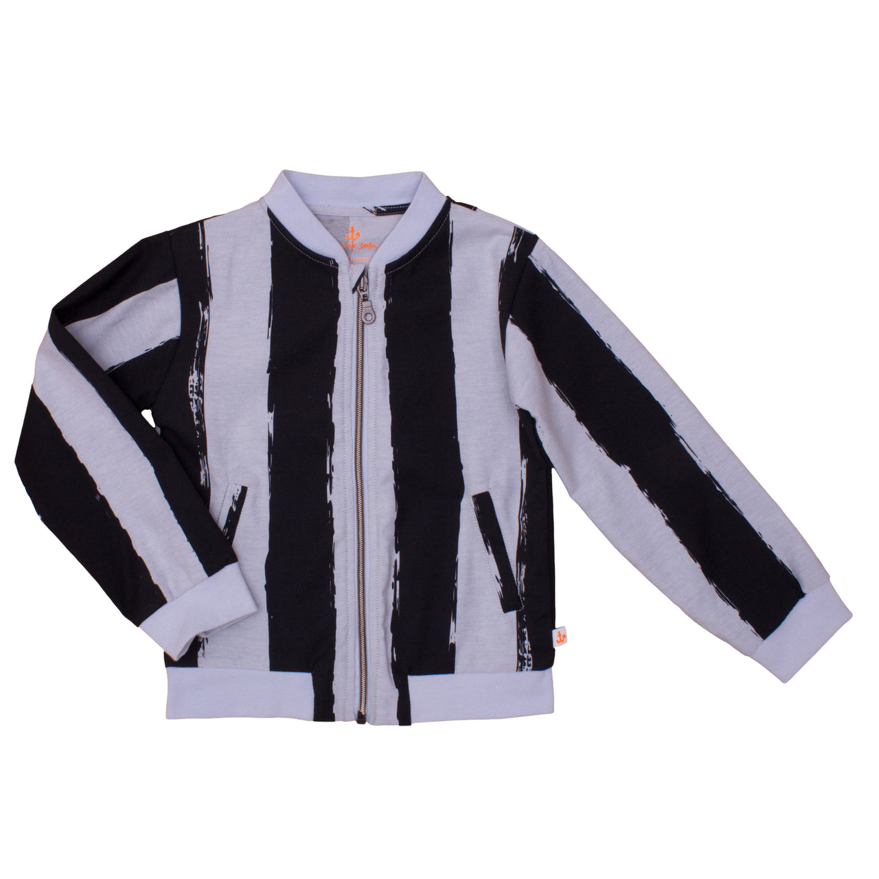 Bomber Jacket, Black Stripes