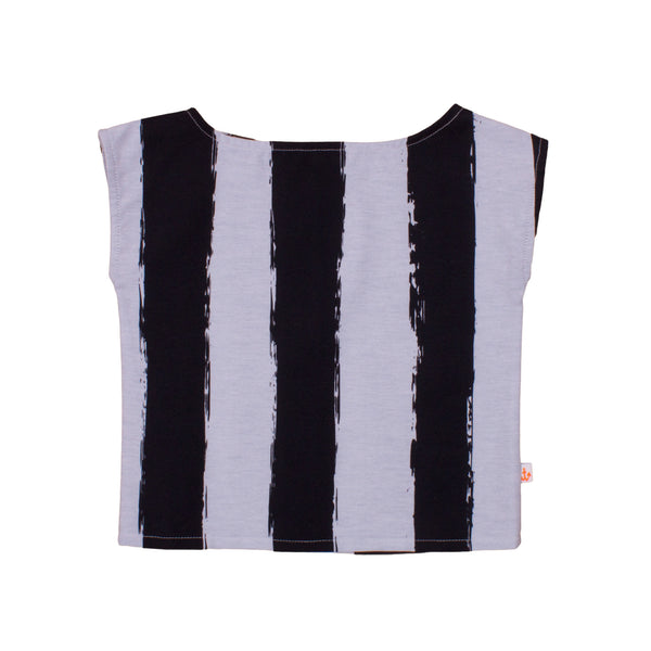 Girls Top, Black Stripes
