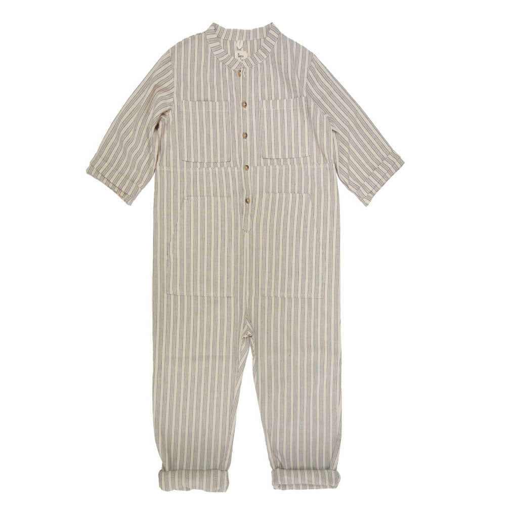 Saturn Striped Jumpsuit, Cosmic