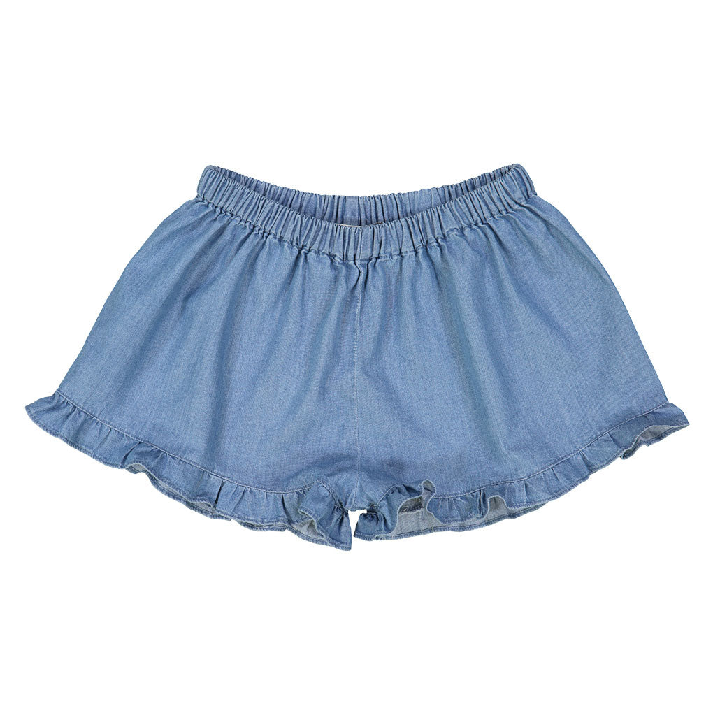 Josephine Shorts, Chambray Blue