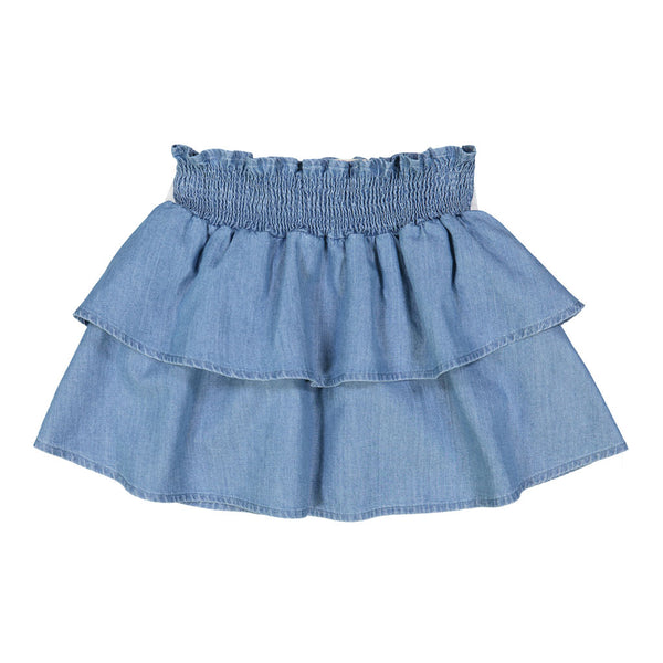 Hello Skirt, Chambray Blue