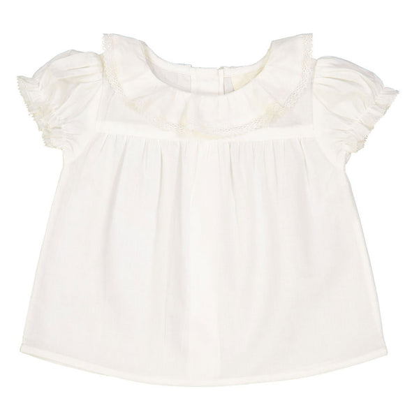 Abricot, Baby Tunic, Off White