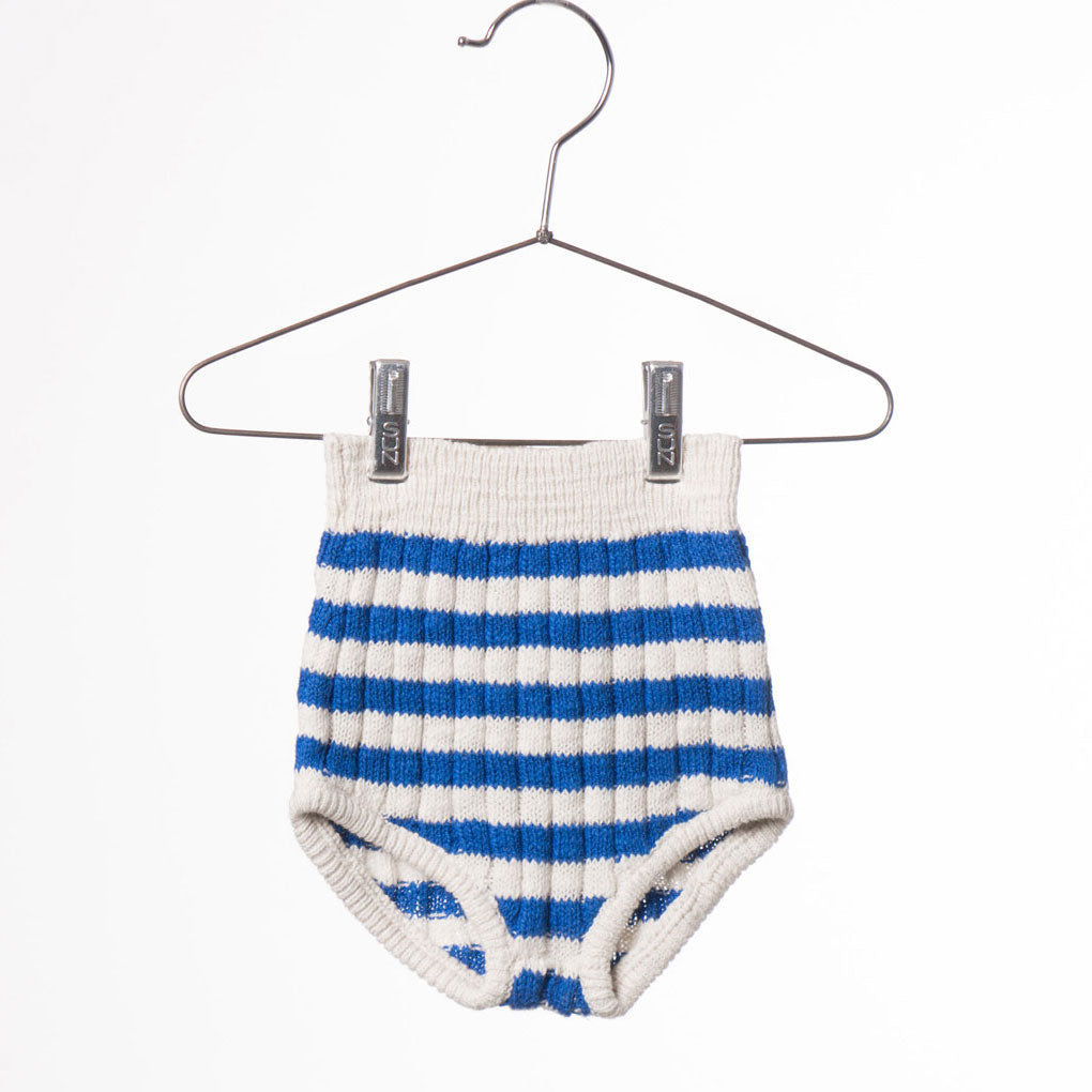 Baby Knitted Culotte, Blue