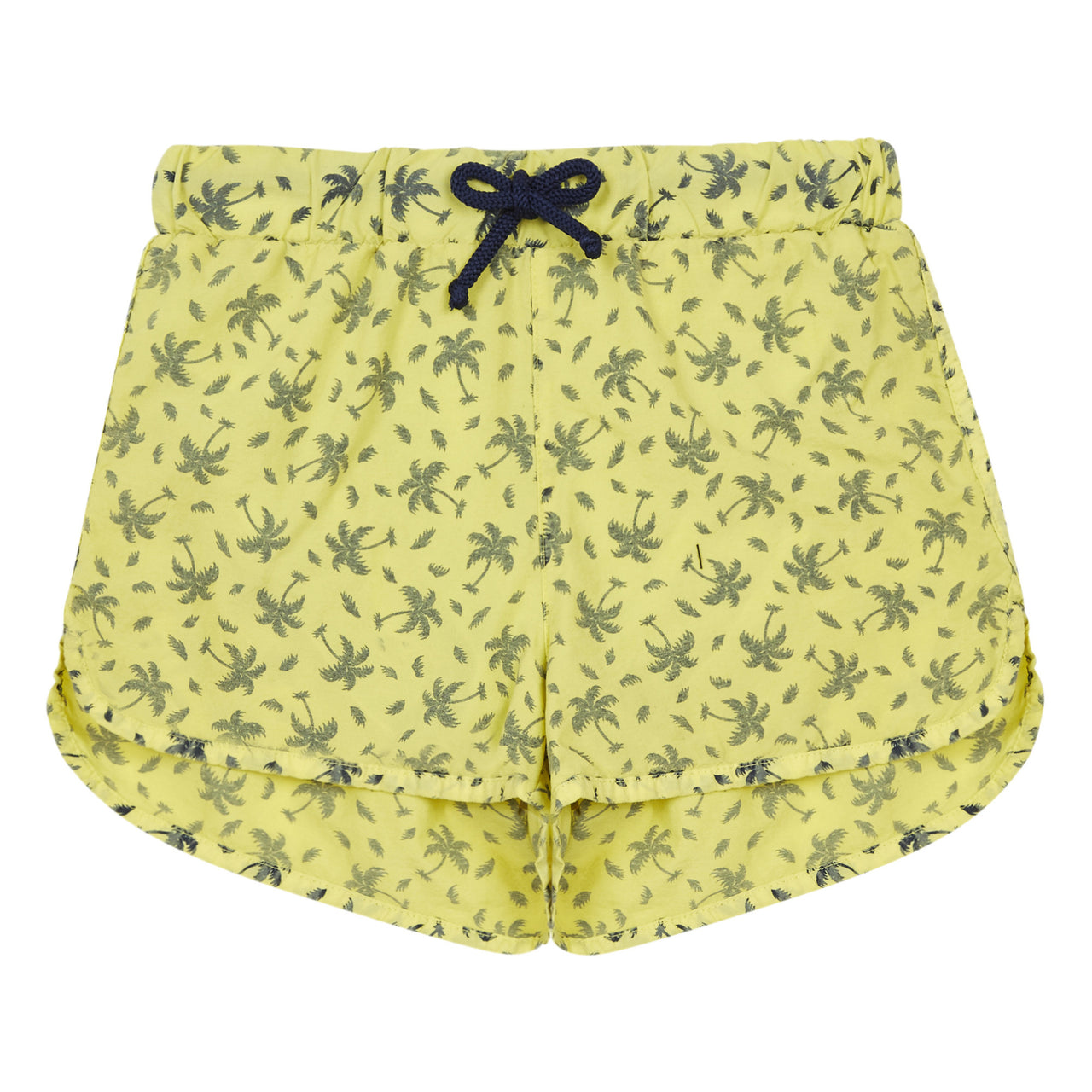 Bahia Palm Tree Swimming Shorts Lemon