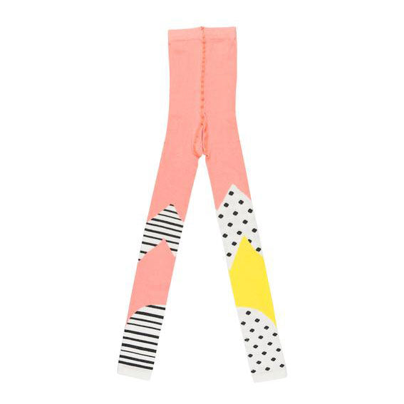 Polka Stripe, ankle tights