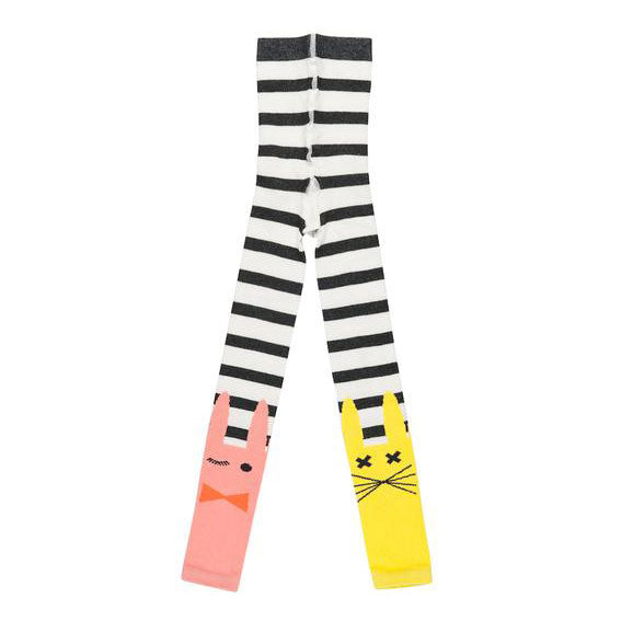 Rabbit ankle tights