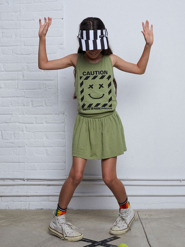 LAUGHTER TANK DRESS