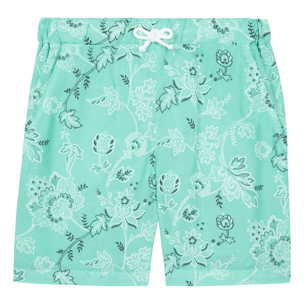 Booby Floral Swimming Shorts Ice